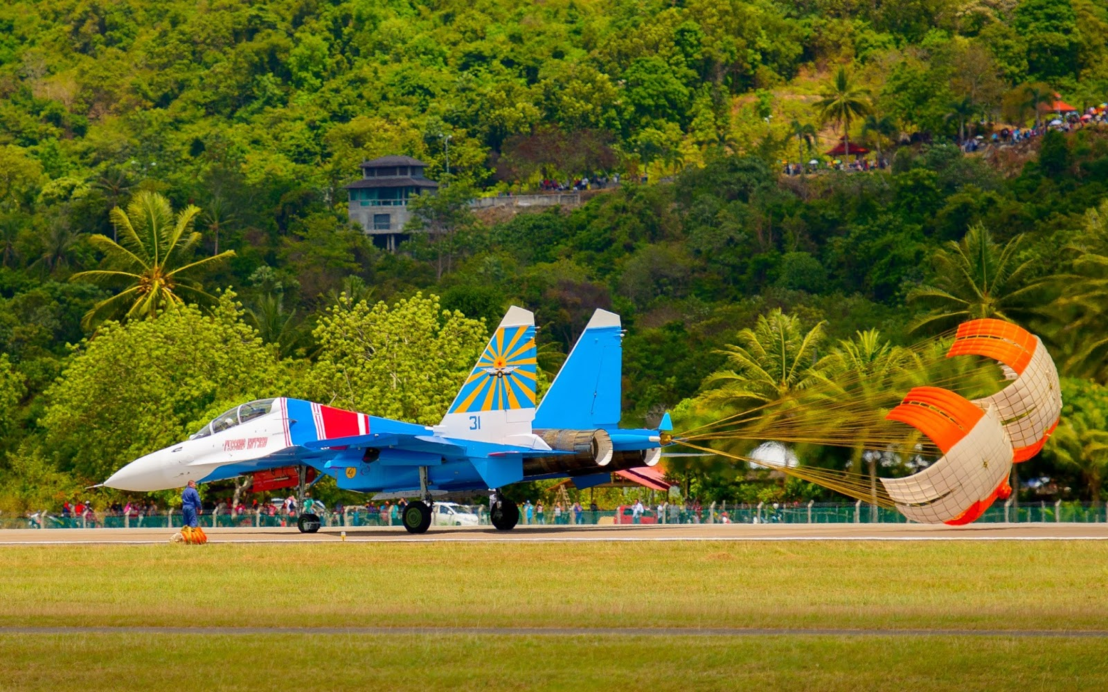The first Su-30SM for Russian Knights 23