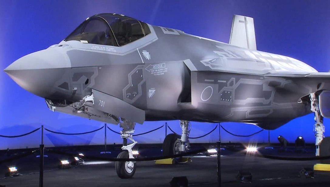 The First Japanese-Built F-35A Unveiled At Nagoya Production