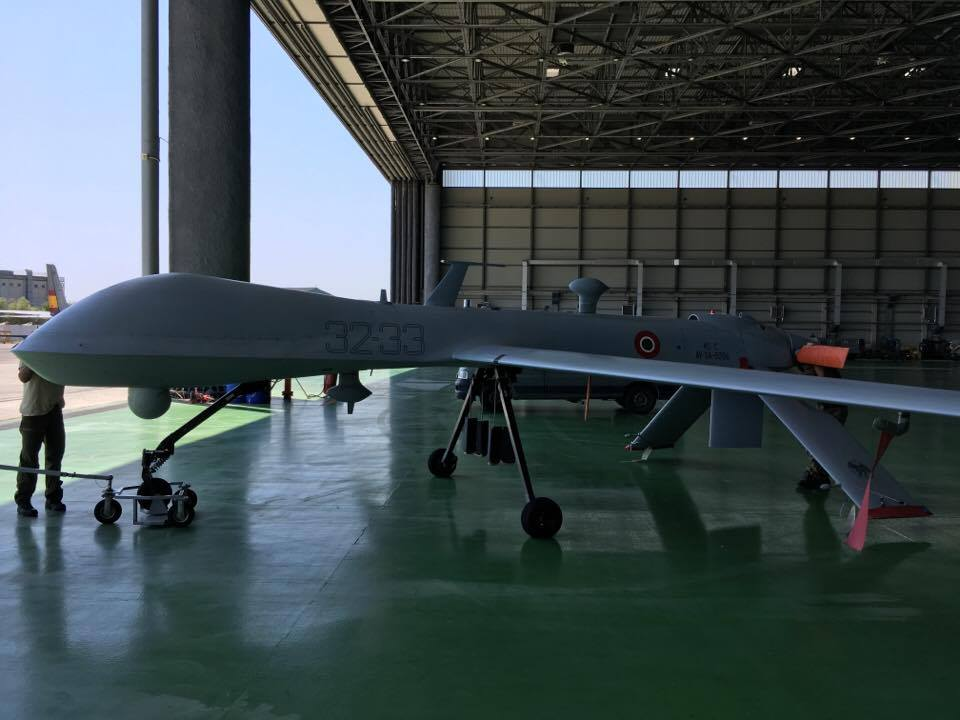 The Italian Air Force Predator A+ Drones Appear With Brand New