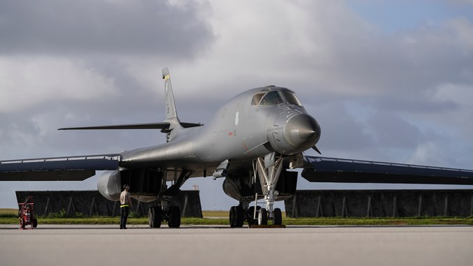 USAF B-1B Lancer Makes Emergency Landing in Midland, Texas – The