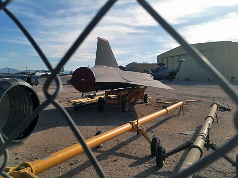 The Time I Found a Formerly Top Secret D-21 Supersonic Drone in the
