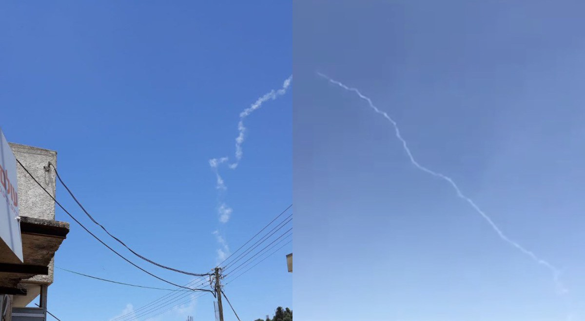 The Aviationist » Israeli Air Force Fires Patriot Missile At Drone That Approached Israel's border with Syria