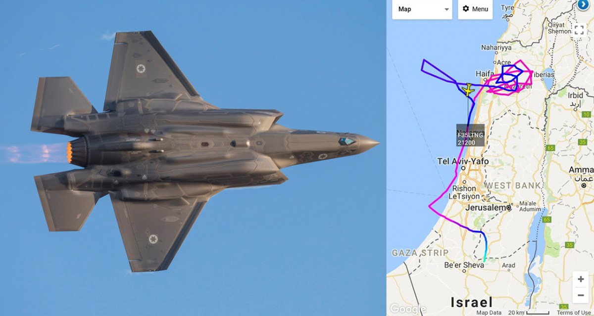 "F-35 Stealth Aircraft Goes ""Live"" On Flight Tracking"