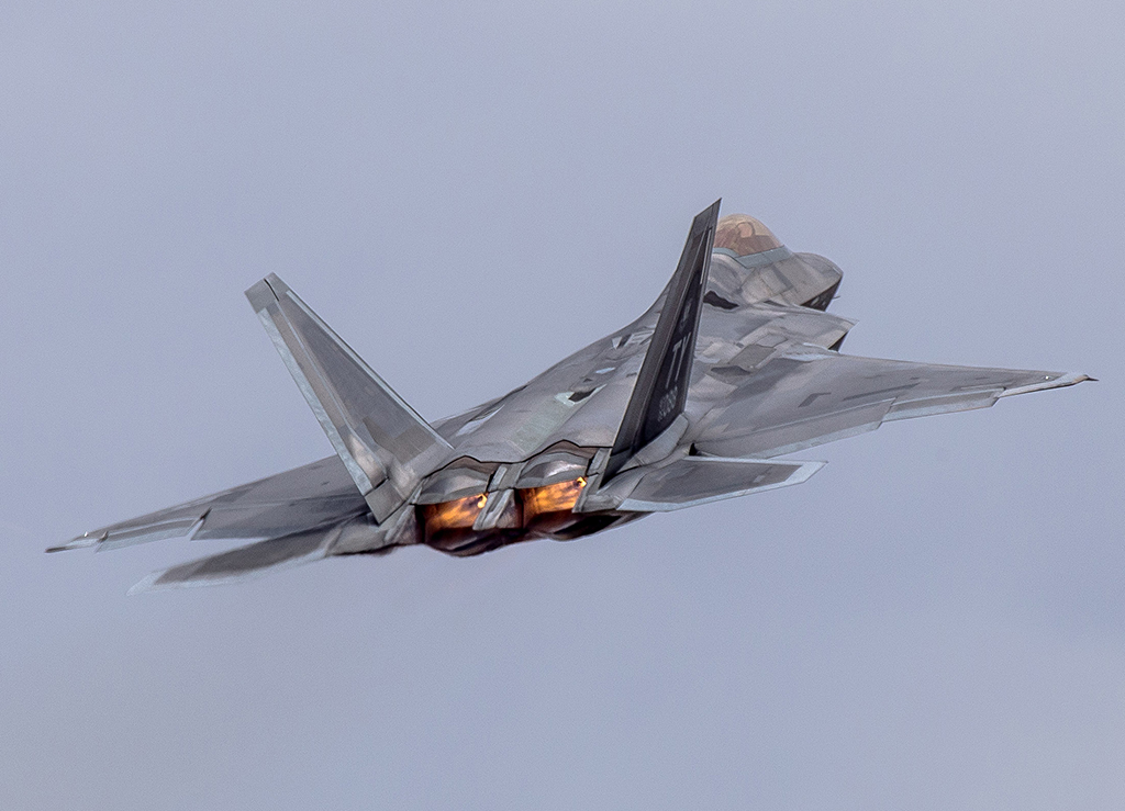 U S  F-22 Raptors Forward Deploy To Albacete Air Base For The Very