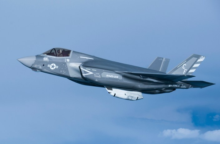 U S  Marine Corps F-35B Jets Involved In First Operational
