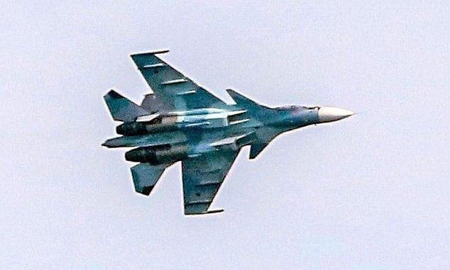 "17 Russian Combat Aircraft ""Buzzed"" British Royal Navy"