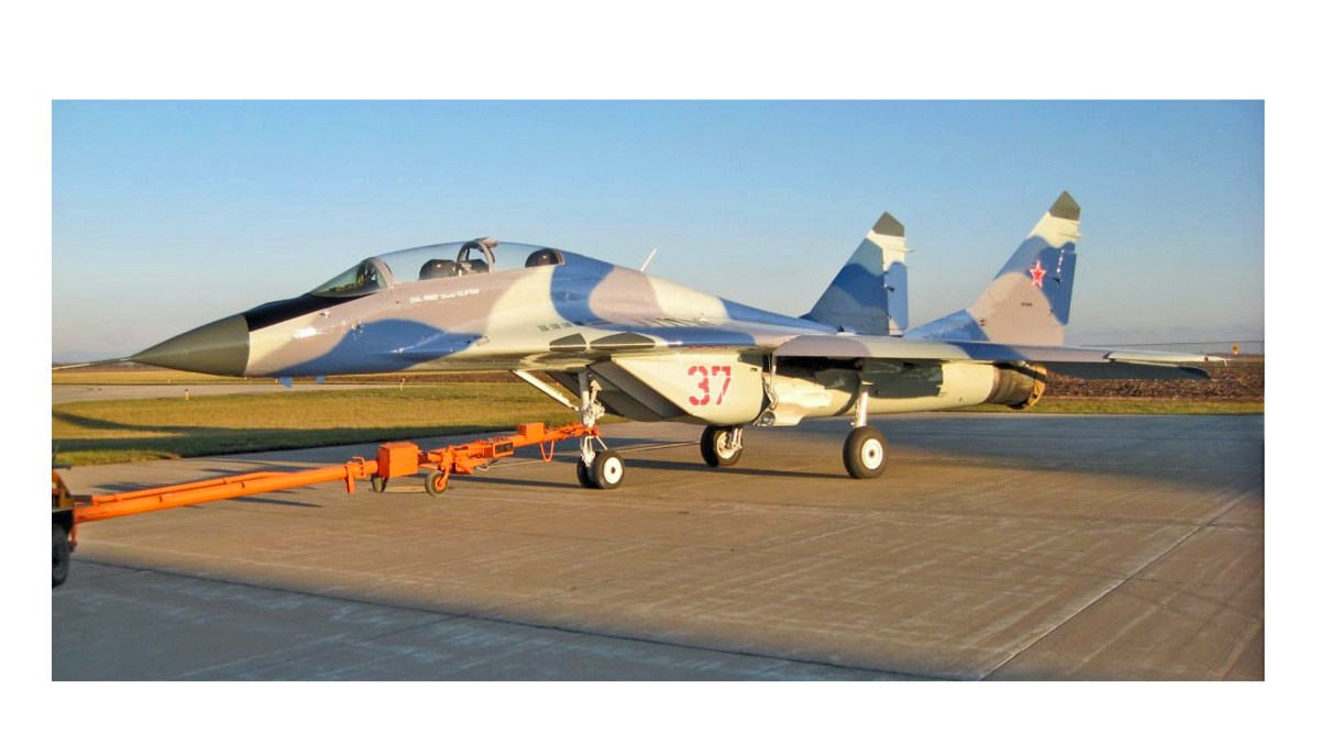 For $4 65 Million This Nice, Low Time MiG-29 Can be Yours