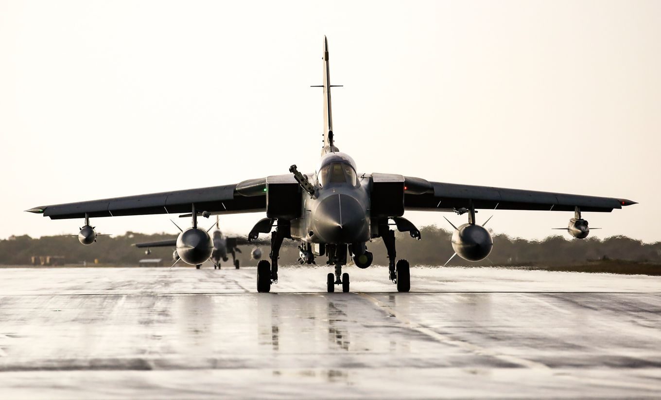 RAF Tornados leave Cyprus for the last time