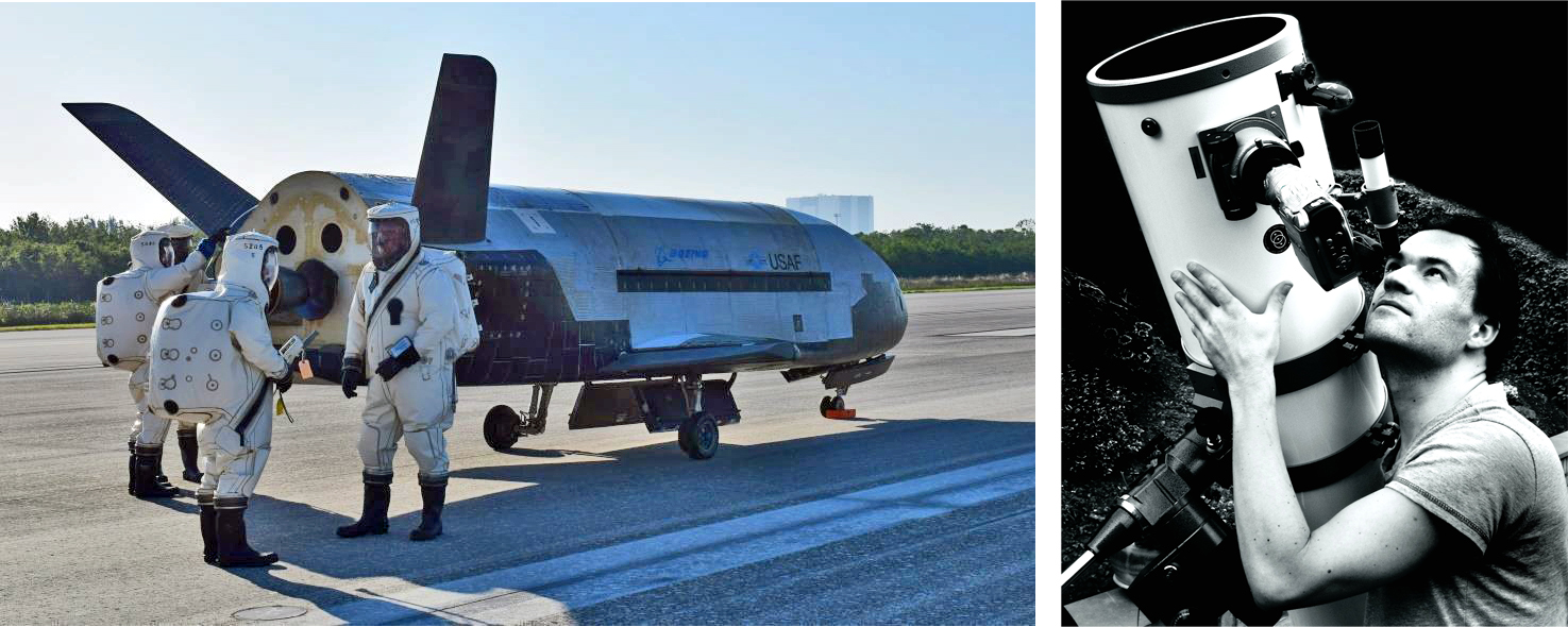 New Photos Surface of Secretive X-37B Space Plane in Orbit on