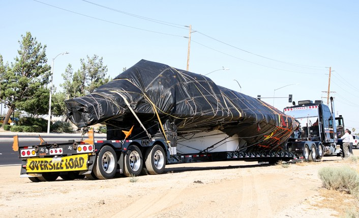 Another F 117 Nighthawk Fuselage Spotted In Transit In