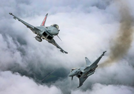 U.K. To Receive Its Final Eurofighter Typhoon By The End Of The Year While Eyeing New Upgrades