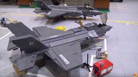 Behold a 75 Square Feet Marine Corps Air Station Entirely Made of LEGO Bricks
