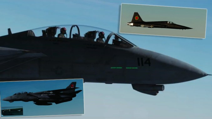 A Guy Recreated The First Part of Top Gun Using DCS World