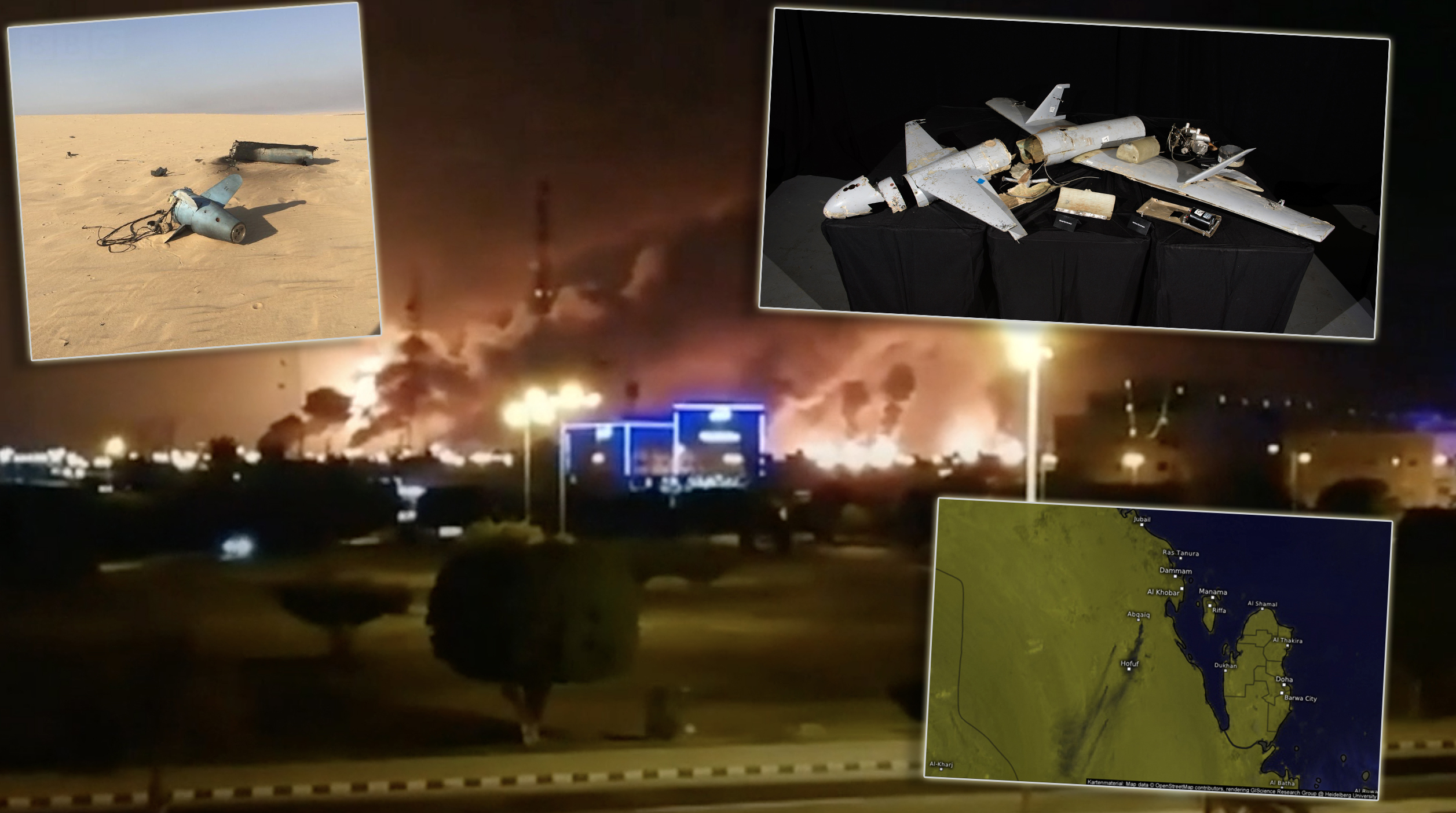 Drone Attacks Shut Down About Half Of Saudi Arabia's Oil Production
