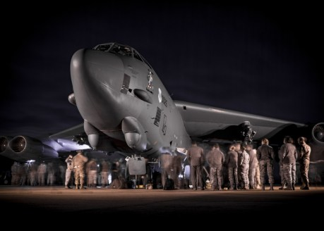 Four U.S. B-52s Of Bomber Task Force Europe 20-1 Have Deployed to RAF Fairford, UK