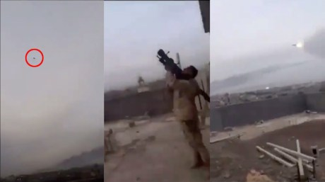 Libyan National Army Air Force MiG-23ML Shot Down By MANPADS Near Tripoli
