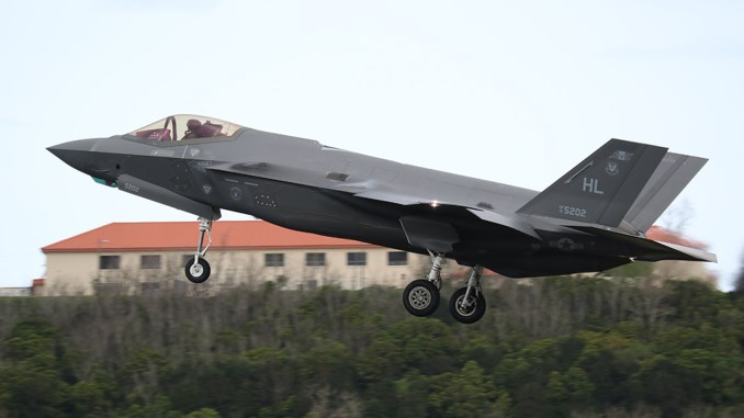 F 35A Lajes 5202 top - Hill Air Force Base's F-35As Return Home From Middle East Deployment (With Unique Nicknames)
