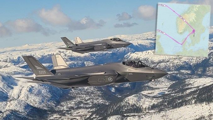 B 1 None integration top - A B-1 Lancer's WSO Sent Us These Pix Of RNoAF F-35s and Swedish Gripens Escorting The Bone Over The Nordic Region