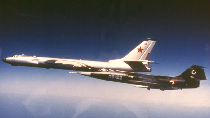 Tu 16 3 - F-104 Starfighter Pilot Recalls His Life Intercepting Soviet Bombers During the Cold War.
