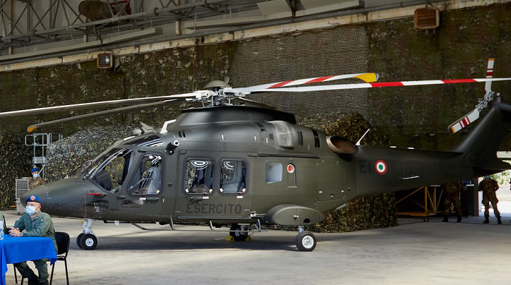 The Italian Army Receives First AW169 Light Utility Helicopter in ...