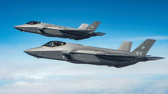 F 35 QRA KIA top - Italian F-35As Perform First Alert Scramble From Iceland To Monitor Activity Of Three Russian Tu-142 Bear F/J Aircraft