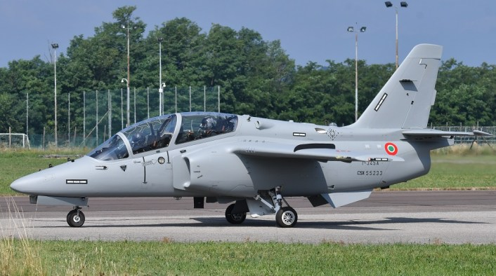 First T 345A Italian colors 1 - Here Are The First Photos of the New T-345A Trainers in Italian Air Force Colors