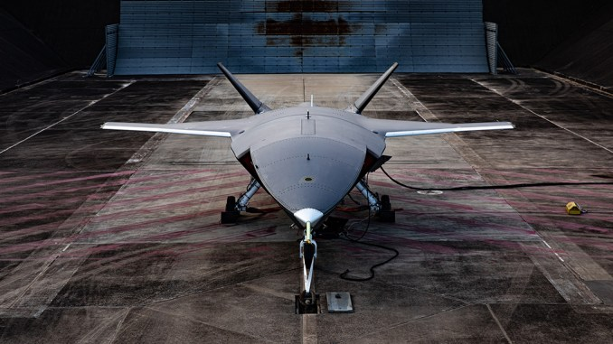 ATS engine testing 9859 hi res - Boeing Has Completed Engine Run on First Unmanned Loyal Wingman Aircraft For Australia