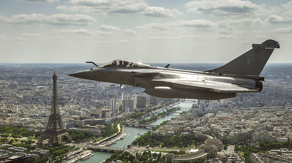 Paris Rattled By Sonic Boom From Military Jet: French Police