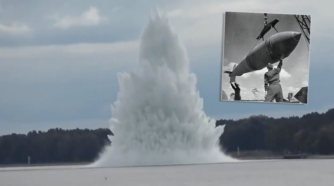 Polish military divers neutralise one of WWII's largest bombs