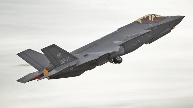 F 35 Rivolto - Italian Air Force F-35s Carry Out SEAD and DEAD Training During Exercise Lightning 2020