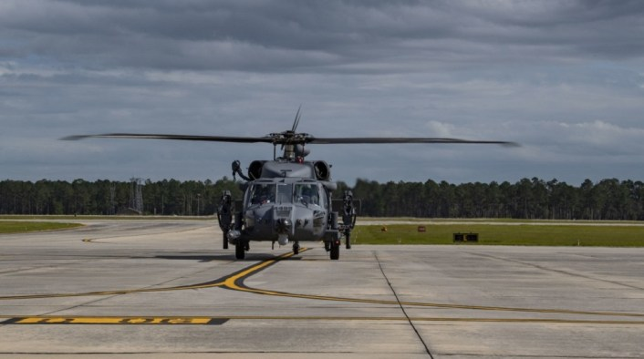 Jolly Green II Delivery 2 - First Operational HH-60W Jolly Green II CSAR Helicopters Delivered To The U.S. Air Force