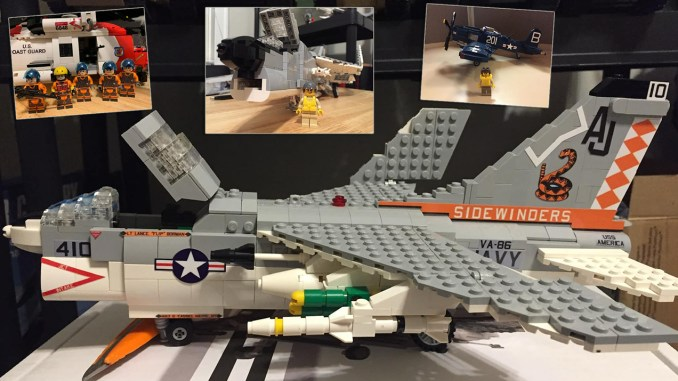 LEGO Naval Aircraft