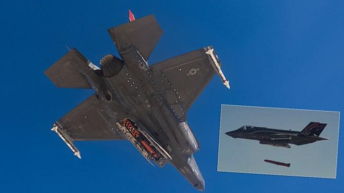 F-35 JSM (Joint Strike Missile) missile drop