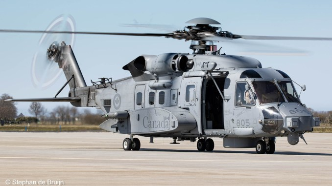 RCAF CH-148 helicopter