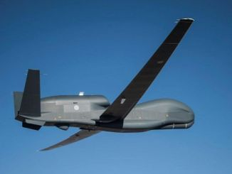 First RQ-4B for Japan