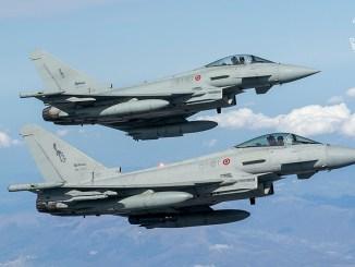 Italian Air Force Eurofighter Typhoons QRA