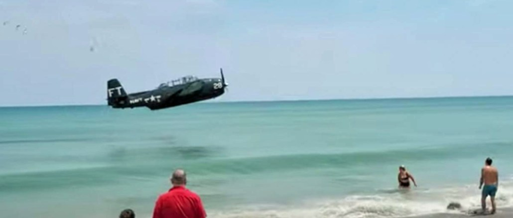 TBM Avenger Ditching