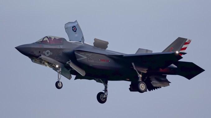 USMC F-35B RAF Lakenheath