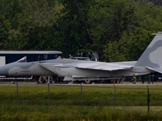 F-15QA recovery