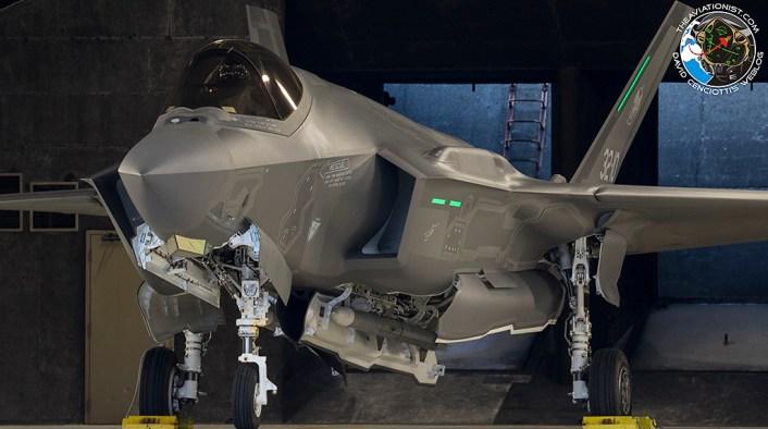 F-35 Intercept Russian An-20 in Estonia