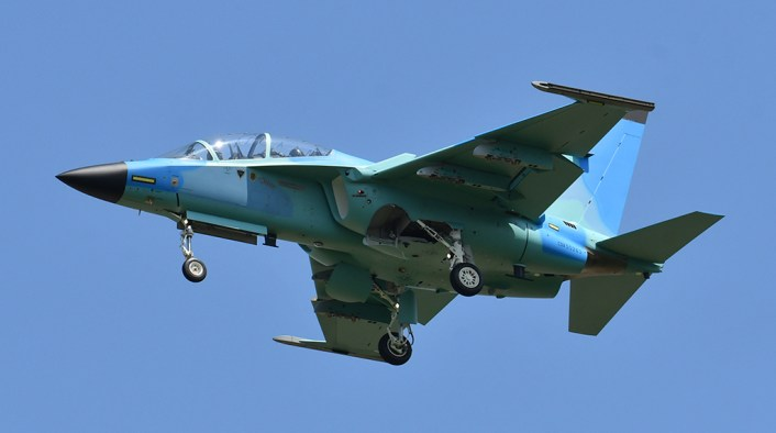 M-346 exotic color scheme