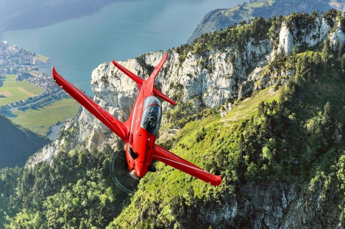AMA ITA 21 PC21s Galatina 2 - Swiss PC-21 Trainers Deploy For Training Exchange With The Italian Air Force