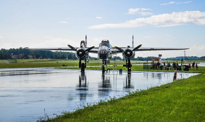 World War II Weekend Air Show