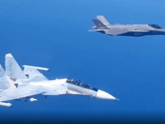 Russian Su-30SM Italian F-35A