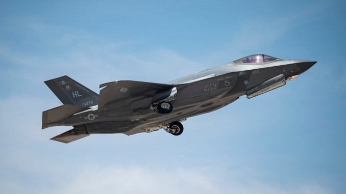 Red Flag 21 3 F 35 Aggressors 1 - Aggressor F-35s Joined The Fight During First Next Generation Red Flag Exercise