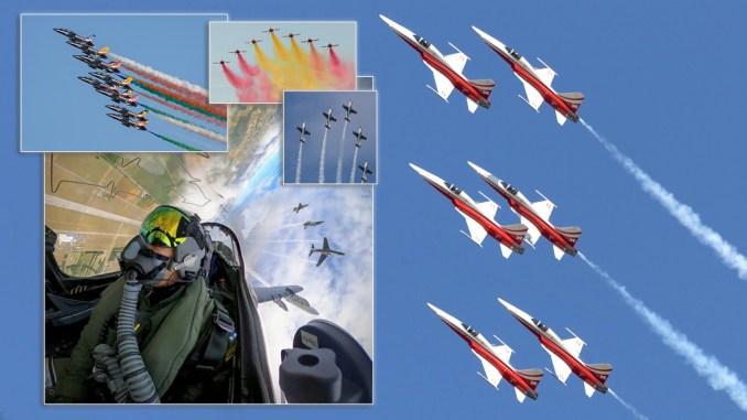 Rivolto Aerobatic Teams top - Let's Focus On The Aerobatic Teams That Took Part In The Frecce Tricolori's 60th Anniversary Airshow In Rivolto