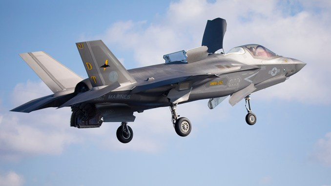 F 35B JS Izumo trials top - US F-35Bs Board Japan's Aircraft Carrier Becoming First Fixed-Wing Aircraft To Operate From Japanese Ship Since WWII