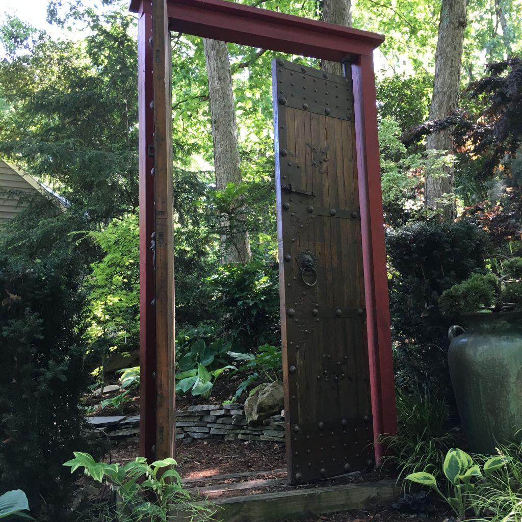 Door to nowhere.