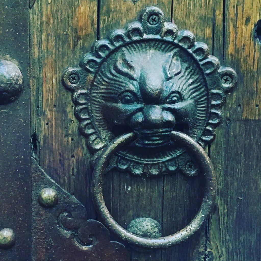 Interesting knocker...