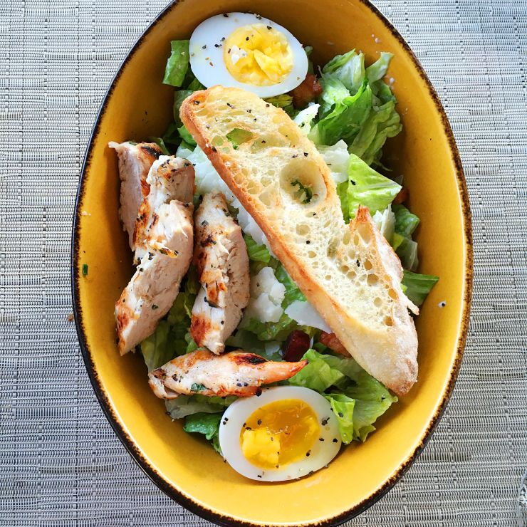 Doesn't mum's Caesar Salad look gorgeous!
